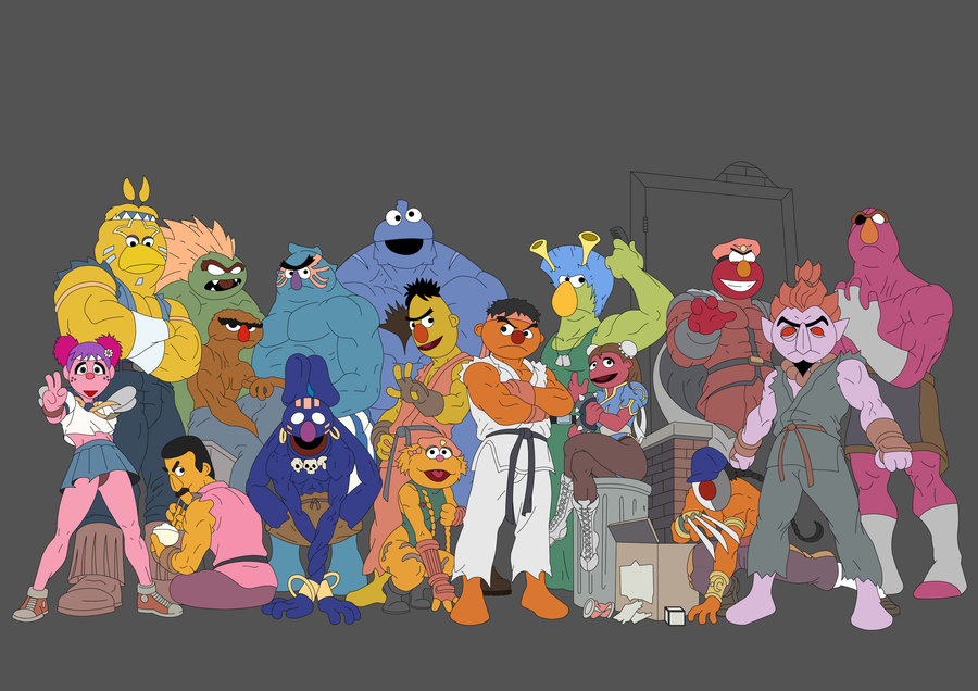 sesame_street_fighter_wip_by_sanjota-d52cgew